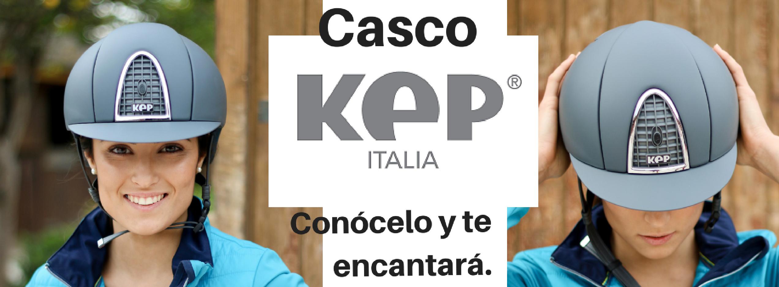 Si conoces cómo es un Casco Kep Italia, te encantará.